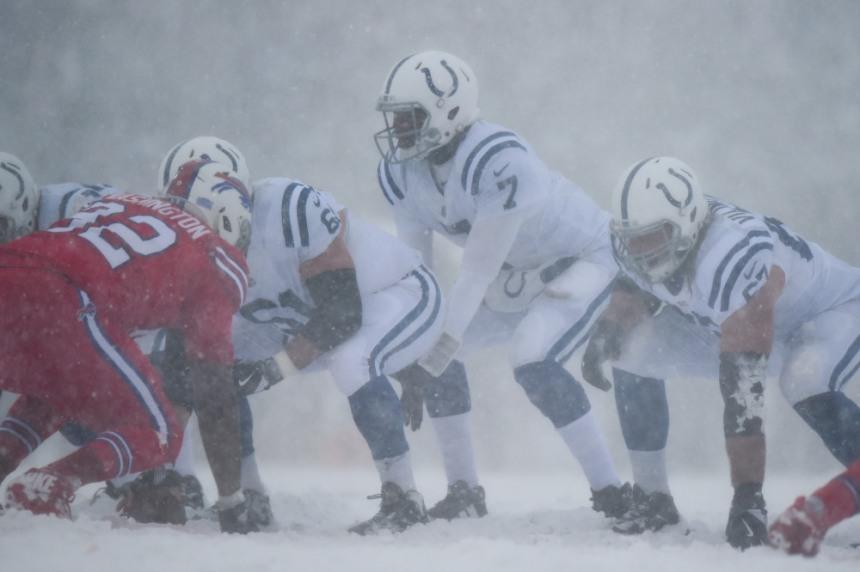 USP NFL: INDIANAPOLIS COLTS AT BUFFALO BILLS S FBN BUF IND USA NY